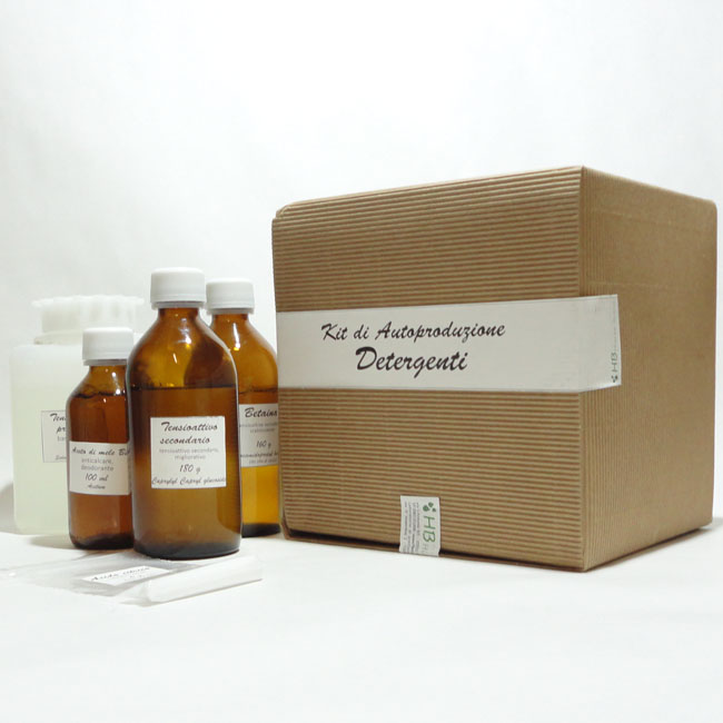 Kit autoproduzione detergenti