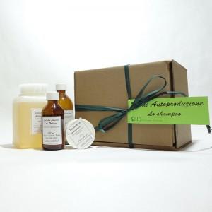 """Kit di autoproduzione """"Lo shampoo"""" x preparare 2 litri di prodotto"""