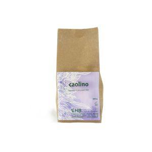 Kaolin, white clay in powder