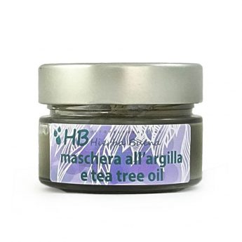 Maschera di argilla e tea tree oil