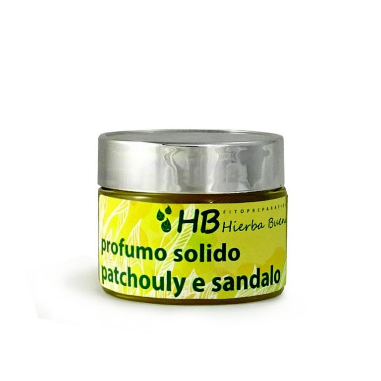 Profumo solido patchouly