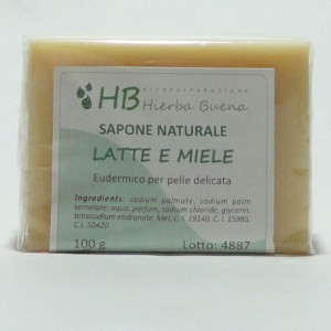 Honey and milk soap